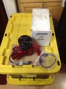Small Block Chevy Meziere Wp301r Water Pump