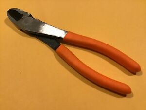 Matco Tools Pcd8b 8 Inch Curved Diagonal Cutter Pliers W Orange Handles Fre Ship