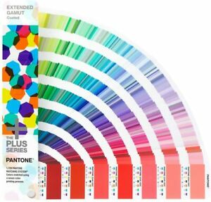 2020 Pantone Tpx Plus Series Extended Gamut Guide Solid Colors On Coated Stock