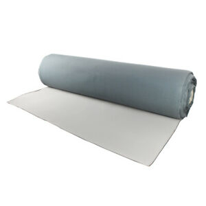 Headliner Material Fabric Foam Backing Roof Lining Sagging Replace 54 x60 Gray