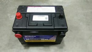 Ac Delco Factory Original Cadillac Car Battery Top Side Post Oem Gm New