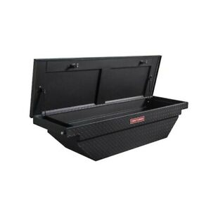 61 5 in X 20 in X 13 in Aluminum Crossover Truck Tool Box