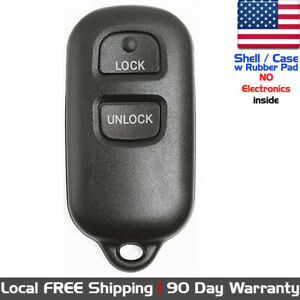 1x New Replacement Keyless Entry Remote Key Fob For Toyota Pontiac Shell Only