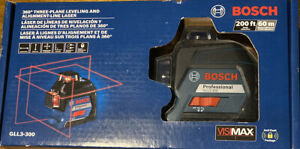 Bosch 360 Three plane Leveling And Alignment line Laser Gll3 300