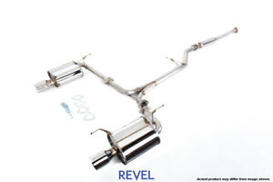 Tanabe Revel Medallion Touring S Catback Dual Exhausts For 02 03 Acura Cl Type S