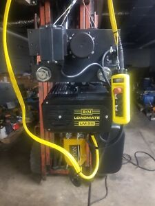 R m 5 Ton Electric Chain Hoist 230 Volts 2 Speed Lm 25 video Included