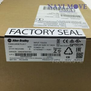 2020 New Sealed Allen bradley 2711p t6c21d8s Panelview Plus 7 Standard 600 Usa