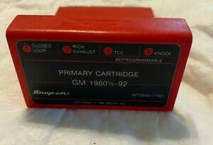 Mt2500 1192 Snap On Primary Cartridge Gm 1980 92