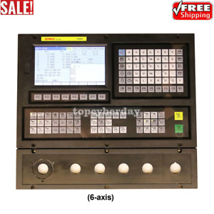 Xc809df 5 Axis Cnc Motion Controller 7 Lcd For Carving Milling Drilling Tapping