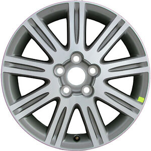 Oem Used 17x7 Alloy Wheel Medium Charcoal With Machined Face 560 69474