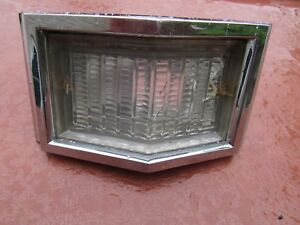 1966 Plymouth Fury Chrome Back Up Light Driver Quality 2575463