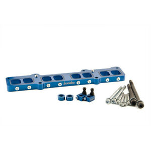Boomba Racing Intake Manifold Spacers Blue For 2014 Ford Fiesta St