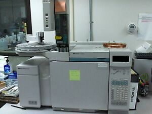 Hp agilent 6890 And 5972 Msd System With Injector Tray And Computer