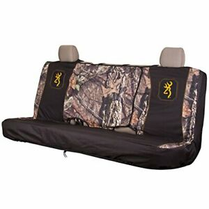 Browning Bench Seat Cover Mossy Oak Country Gold Full Size