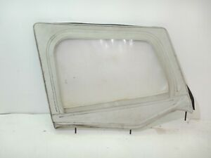 Jeep Wrangler Yj 87 95 Soft Top Half Door Passenger Oem White Free Shipping