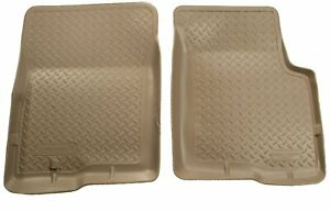 Husky Liners 35113 Classic Style Front Floor Liner For Toyota Tacoma Tan