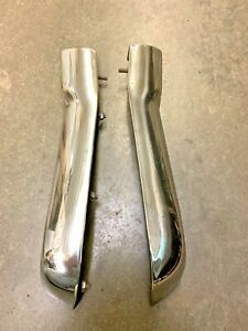 1956 Chevy Eyebrow Mouldings Front Fender Passenger Driver Sides