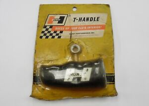 Vintage Hurst Performance Hurst Black T handle Shifter 307 7057 Nos