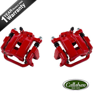 Rear Red Performance Calipers Pair Set For Infiniti G35 M35 M45 Nissan 350z