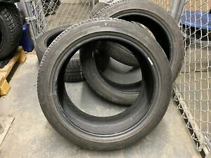 Set Of 245 45r19 Michelin X Ice 98t 6 32 Tread Sports Cars Used For 2 Years