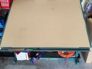 Large Drawing drafting Table Used Adjustable Tilt 38 In L X 50 W In X 30 Hi