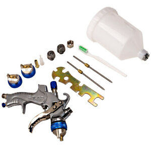 Hvlp Spray Gun Kit 1 4 1 7 2 0 With 600ml Cup Car Air Paint Gun New