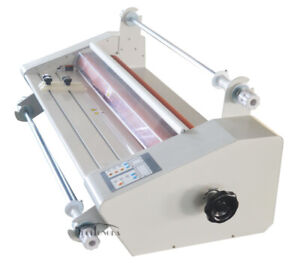 Openbox 25in Hot Cold Roll Laminator High Temperature Thermal Laminating Machine