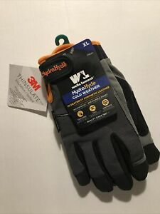 Nwt Wells Lamont Work Gloves Cold Weather Hydrahyde Touch Screen Thinsulate Xl