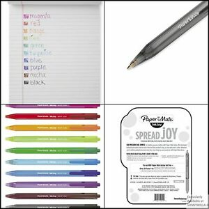 Paper Mate Inkjoy 100rt Medium Point assorted 20 Pack Retractable Ballpoint Pens