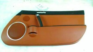 2006 Mazda Miata Right Door Panel Brown Leather Oem