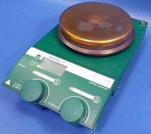 Chemglass Safety Control Digital t 630w Hotplate Magnetic Stirrer Ret Ct