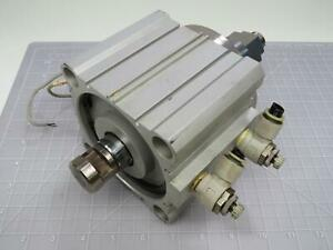 Smc Cdq 2b100 30 Compact Pneumatic Cylinder T166819
