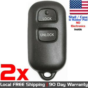 2x Keyless Entry Remote Key Fob For Toyota And Scion Hyq12ban Case Shell Only
