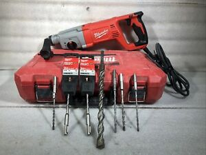 Milwaukee 5262 21 1 Inch Sds Plus Rotary Hammer Drill With Extras