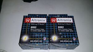 Altronix 6062 Multifunction Timer 1 Sec To 60min access Siren 12 24vdc