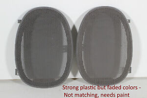 Faded Non Matching 2000 2005 Impala Monte Carlo Rear Speaker Grill Covers Gray