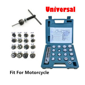 Motorcycle Valve Seat Reamer Repair Displacement Cutter Valve Tool Set Practical