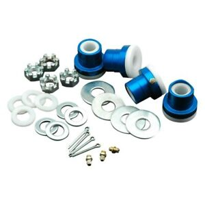 For Chevy Camaro 67 69 Global West Upper Del A Lum Control Arm Bushing Kit