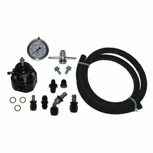 Map Afpr Fuel Pressure Kit Aem Regulator Stainless Hose For Mitsubishi Evo 8 9