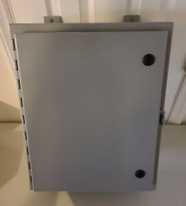 Ralston Metal Products Nema eemac Type 12 Wall mount Enclosure 20 X 16 X 6