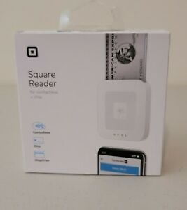 New Square Reader Contactless Chip Magstripe Accept Payments Everywhere