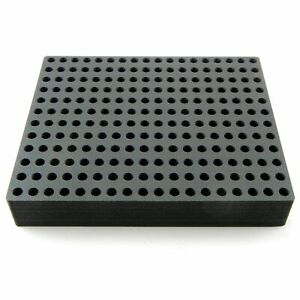 Test Tube Radioimmunoassay Organizer 216 Storage Rack Foam Stand 13mm Diameter