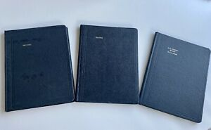 Vintage Columnar Books Standard Boorum Pease Usa And Shaw s
