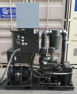 Travaini 2002 25 Hp Single Stage Vacuum Pump tro 400s 1a woodworking Machinery