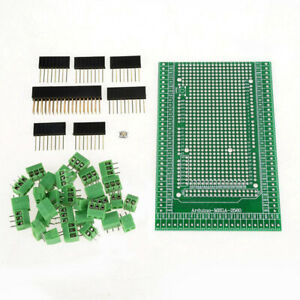 Double side Pcb Prototype Screw Terminal Block Shield Board Kit For Mega 2560 R3