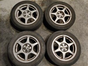 2000 2001 Subaru Impreza 2 5rs 16 5x100 Wheels Rims Set Pick Up Only Gc8