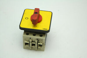 Baco 172200 Rotary Disconnect Switch 690vac