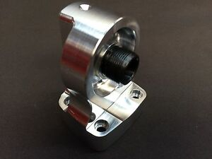 Cnc Machined Billet Ford Fe Maximum Flow Oil Filter Adapter