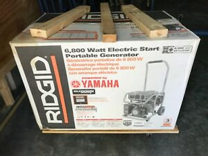 Ridgid Generator 6800 Watt Electric Start