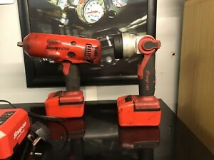Snap On Cteu8850 18v 1 2 Impact Wrench Charger Battery Protection Covers Torch
